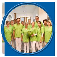Team, Zahnarztpraxis Dr. Bruns und Dr. Heimke Hof